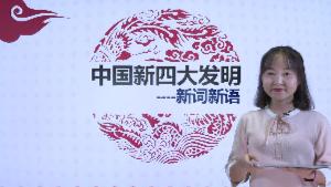 新词新语之中国新四大发明